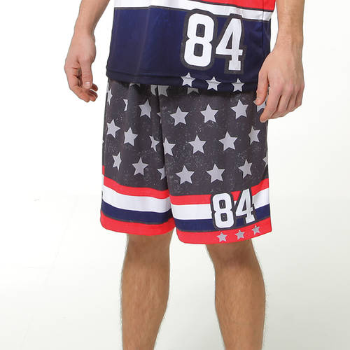 MOVE U American Custom Men's Softball Team Shorts : SF1004