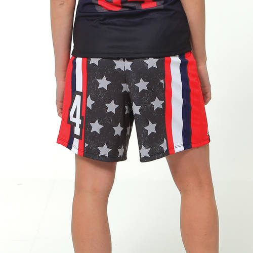 MOVE U American Women's Custom Softball Shorts : SF1006