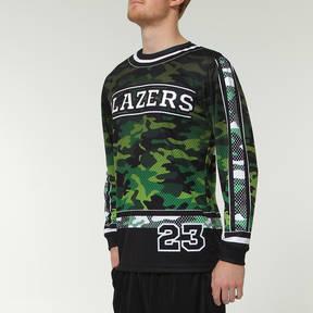 MOVE U Camo Custom Long Sleeve Softball Team Jersey