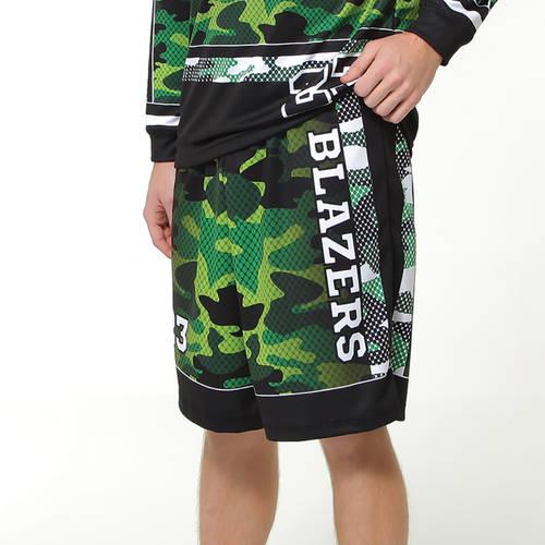 MOVE U Camo Custom Men's Softball Team Shorts : SF1017