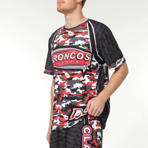 MOVE U Digi Camo Custom Short Sleeve Softball Team Jersey : SF1026