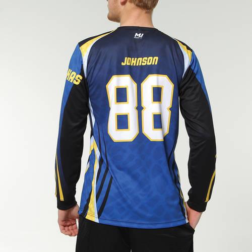 MOVE U Dex Custom Long Sleeve Softball Team Jersey : SF1053