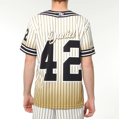 MOVE U Vintage Custom Short Sleeve Softball Team Jersey : SF1094