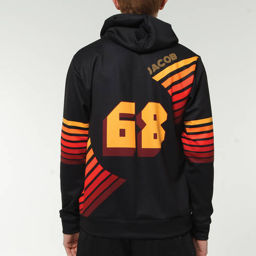 MOVE U Retro Custom Softball Team Hoodie : SF1109