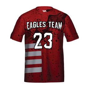 MOVE U Eagles Custom Short Sleeve Softball Team Jersey