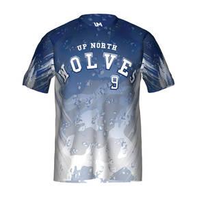 MOVE U True North Custom Short Sleeve Softball Team Jersey