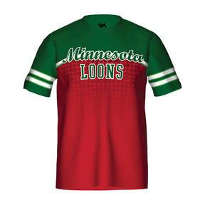 MOVE U Craze Custom Short Sleeve Softball Team Jersey