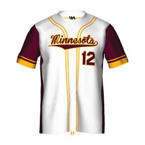 MOVE U Herald Custom Short Sleeve Softball Team Jersey