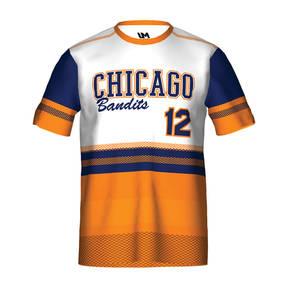 MOVE U Bandits Custom Short Sleeve Softball Team Jersey