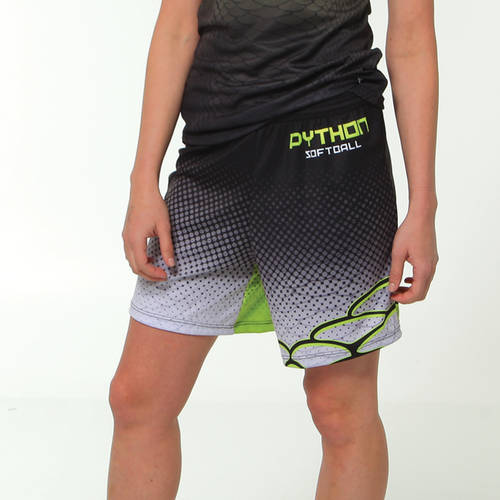 MOVE U Serpent Women's Custom Softball Shorts : SF1188
