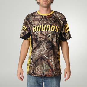 MOVE U Hounds Custom Mossy Oak Short Sleeve Softball Jersey