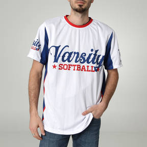 MOVE U Varsity Custom Short Sleeve Softball Team Jersey