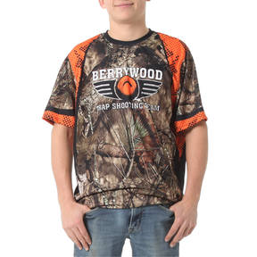 MOVE U Blaze Custom Trap Shooting Short Sleeve Jersey