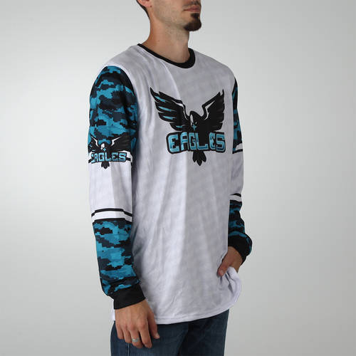 MOVE U Adversary Custom Trap Shooting Long Sleeve Jersey : TS0003