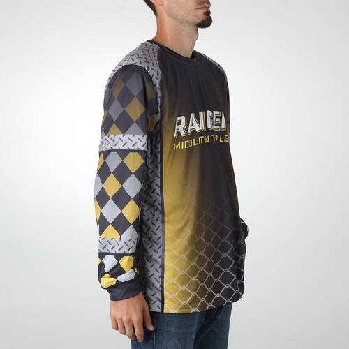 MOVE U Industrial Custom Trap Shooting Long Sleeve Jersey : TS0039
