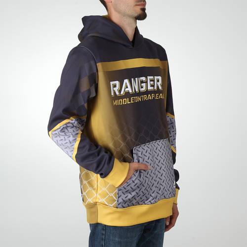 MOVE U Industrial Custom Hooded Trap Shooting Sweatshirt : TS0041