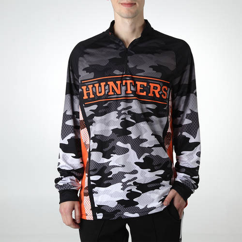 MOVE U Hunter Custom Trap Shooting Long Sleeve Quarter Zip : TS0049