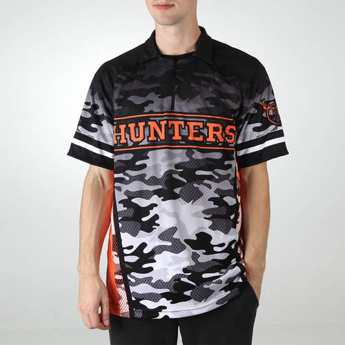 MOVE U Hunter Custom Trap Shooting Short Sleeve Quarter Zip : TS0050