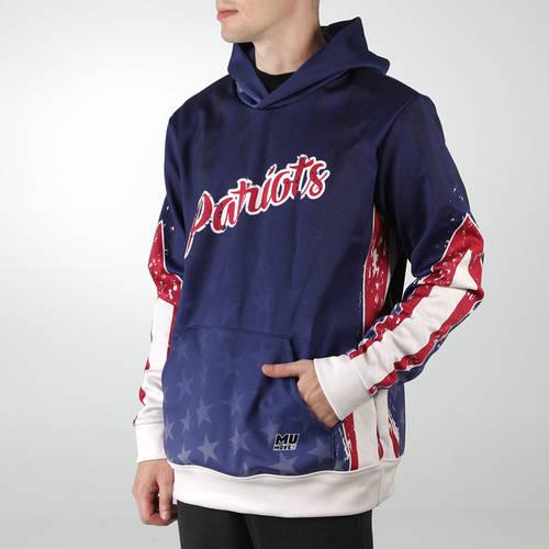 MOVE U Patriot Custom Hooded Trap Shooting Sweatshirt : TS0077