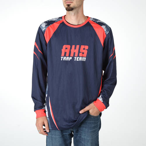 MOVE U Sharpshooter Custom Trap Shooting Long Sleeve Jersey : TS0087