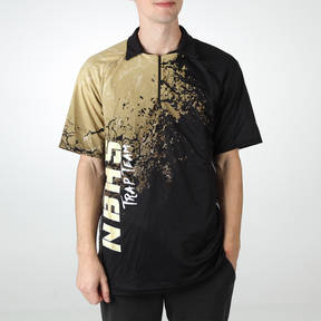 MOVE U Blast Custom Trap Shooting Zipped Polo