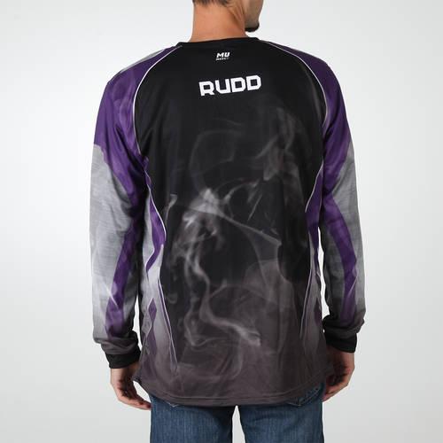 MOVE U Smoke Custom Trap Shooting Long Sleeve Jersey : TS0135