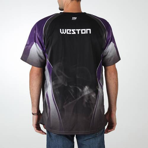 MOVE U Smoke Custom Trap Shooting Short Sleeve Jersey : TS0136