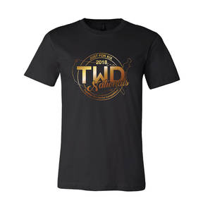 TWD National Gold Foil T-Shirt