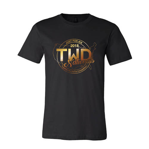 TWD National Gold Foil T-Shirt : TWDNAT