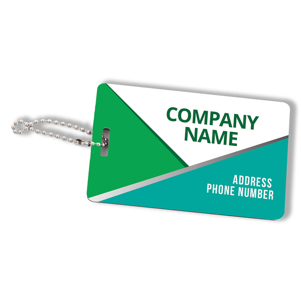 Custom Printed Interline Personalized Luggage Tag