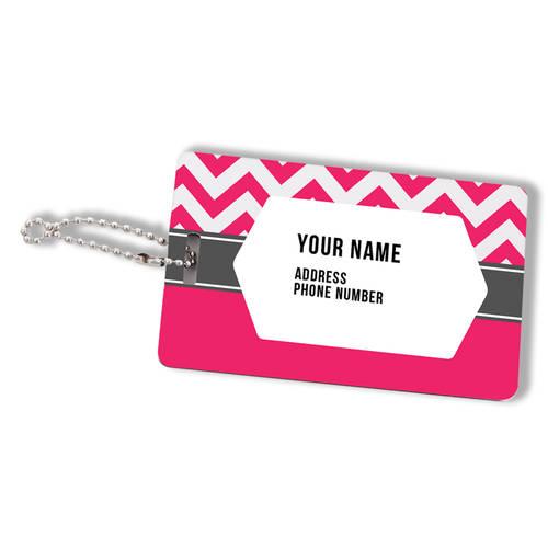 Custom Printed Long Haul Personalized Luggage Tag : WI455