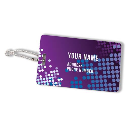 Custom Printed Keynote Impact Personalized Luggage Tag : WI459