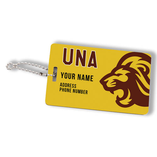 Custom Printed Home Field Personalized Team Luggage Tag : WI460