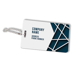 Custom Printed Flashpoint Synergy Personalized Luggage Tag