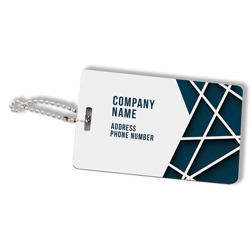 Custom Printed Flashpoint Synergy Personalized Luggage Tag : WI462