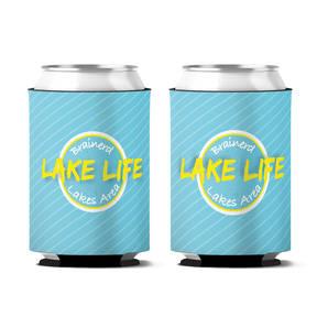 Custom Lake Life Personalized Can Koozie