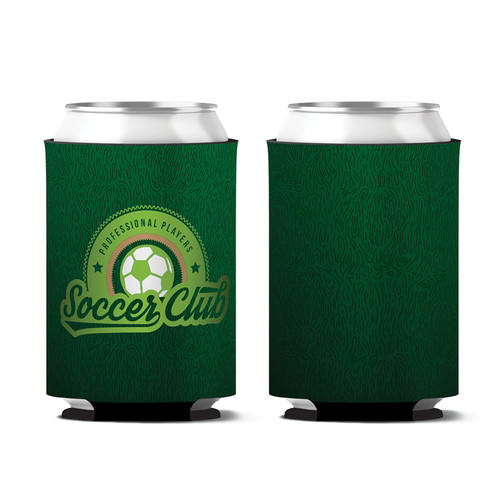 Custom Screening Center Soccer Club Personalized Can Koozie : WI410