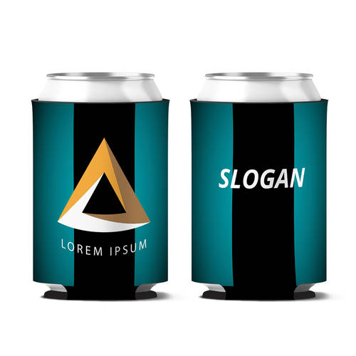 Custom Flashpoint Synergy Personalized Can Koozie : WI412
