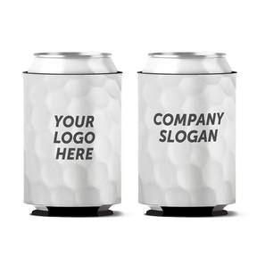 Custom Golf Ball Dimples Personalized Can Koozie