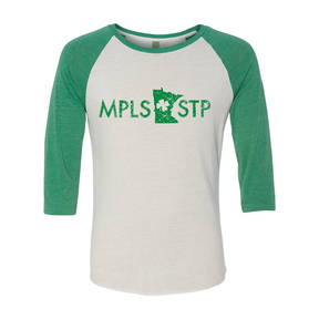 Adult Custom MPLS/STP Irish Pride Baseball Tee