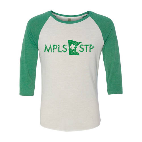 Adult Custom MPLS/STP Irish Pride Baseball Tee : GP4047