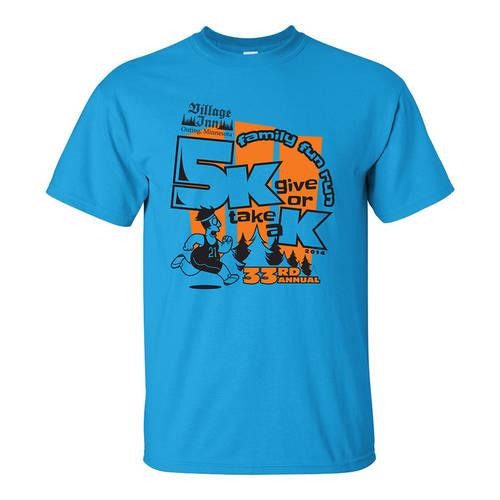 Adult Custom Family Fun Community Race/Walk/Run 5K T-Shirt : GP4065