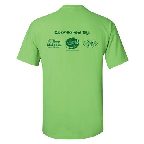 Adult Custom Fun Run Community Race/Walk/Run 5K T-Shirt : GP4066