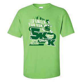 Adult Custom Fun Run Community Race/Walk/Run 5K T-Shirt