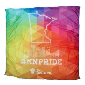 The Teehive #MNPRIDE Minnesota Pride Skyline Bandana