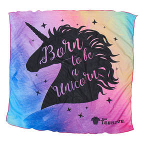 The Teehive Born To Be A Unicorn Pride Bandana