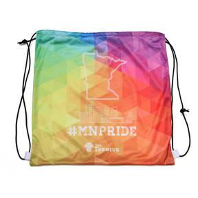 The Teehive #MNPRIDE Minnesota Pride Skyline Cinch Sack