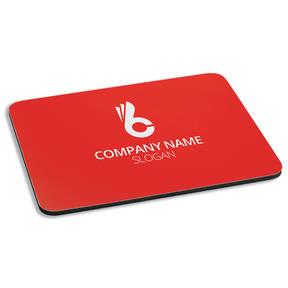 Custom Printed Pro Minimal Personalized Cushioned Mousepad