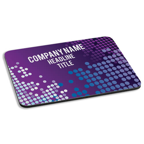 Custom Printed Keynote Impact Personalized Cushioned Mousepad : WI463