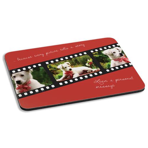 Custom Photo Film Reel Personalized Cushioned Mousepad : WI467